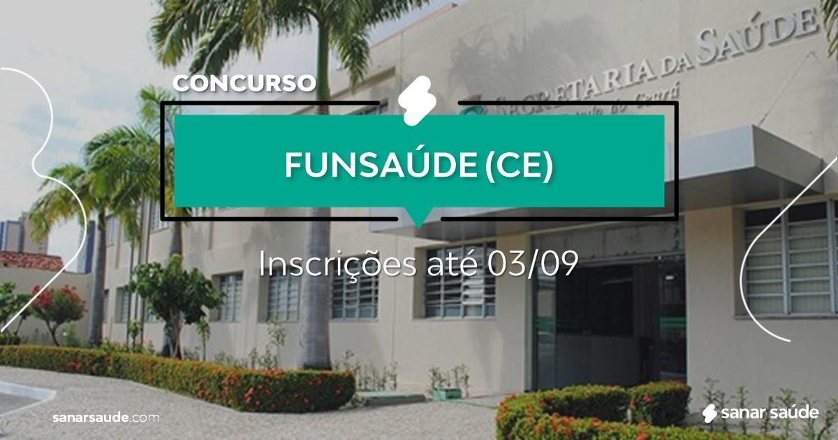Concurso da Funsaúde - CE: mais de 2600 vagas na Saúde!