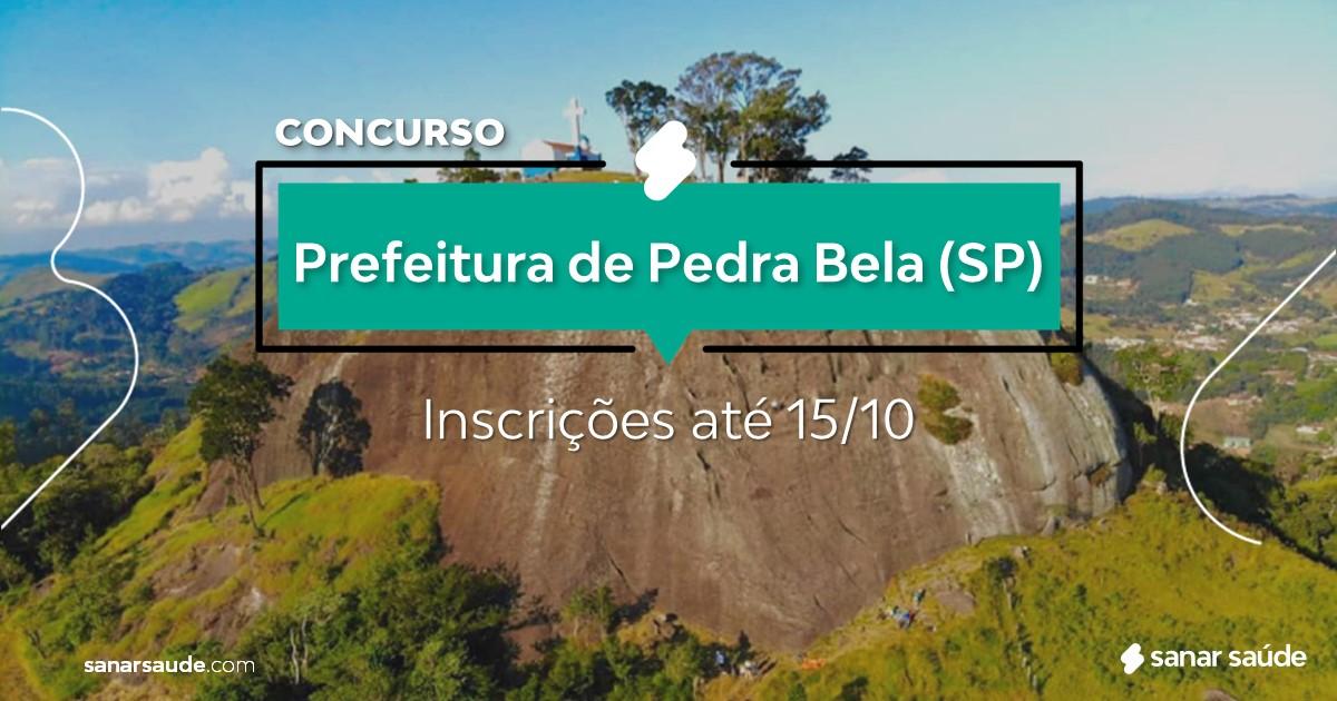 Concurso de Pedra Bela - SP: vaga na Saúde para dentista!