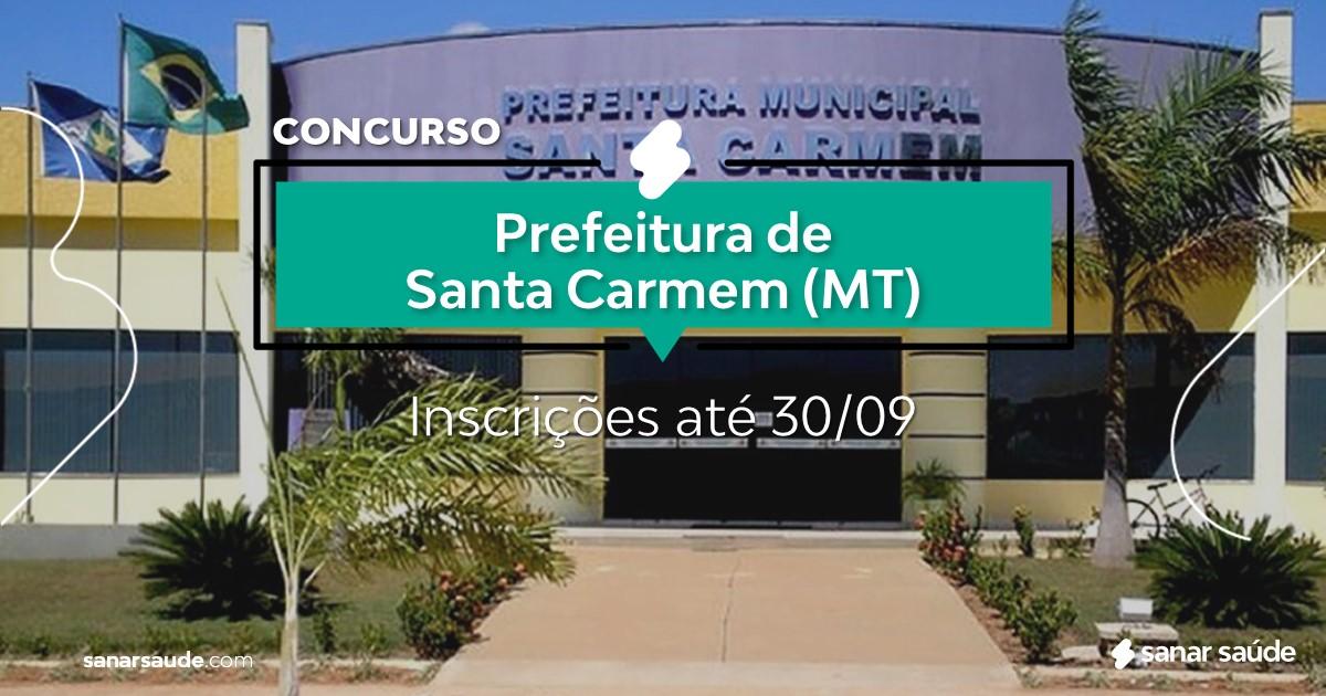 Concurso de Santa Carmem - MT: na Saúde, vaga para veterinário!