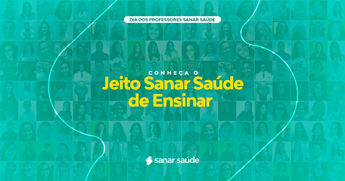 Conheça o jeito Sanar Saúde de ensinar!