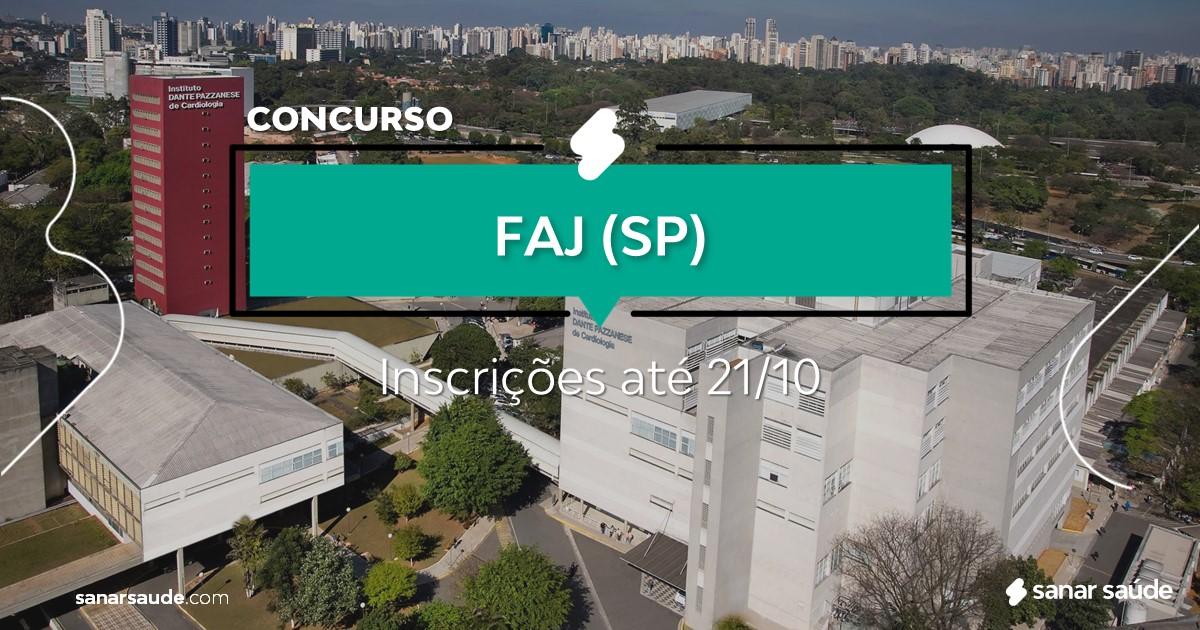 Concurso da FAJ - SP: na Saúde, vaga para médico!